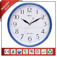 MEILI Brand Plastic Round Clock Theme