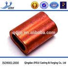 Hardware Rigging wire rope fasten brass ferrules
