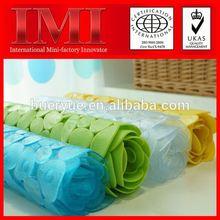 Hot ISO9001 14001 RoHS Certificate Custom Printed Natural PVC children anti-slip shower bath mat