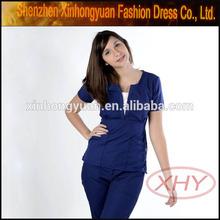 Traditional nurse scrub uniform nurse clothing custom