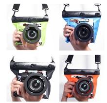 Tteoobl GQ-518L 20m HD Waterproof SLR Camera Waterproof Bag Can Shutter Focusing Digital Camera Bag