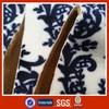100% polyester printed plush fabric,bonded fleece fabric