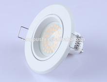 CE & RoHS 3 years warrenty SMD Ceramic warm white ceramic recessed led gu10 spotlight