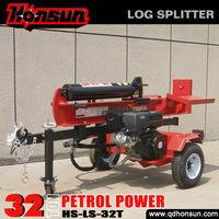 Kohler Command Garden tools recoil/electric start ram travel 610mm hot sale self-power 32tonne log splitter