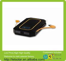 China factory high efficiency solar panel 6000mAh folding portable solar power bank mobile phone accessory