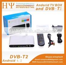 Favorites Compare OEM/ODM Android 4.0 Smart Tv Box Dvb T2 Set Top Box