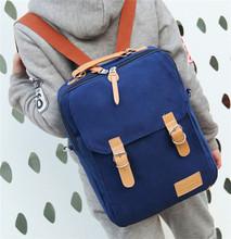 2014 New arrival trendy leisure canvas bag backpack back bag