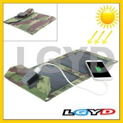 5W Portable Folding Solar Panel / Solar Charger Bag for Laptops / Mobile Phones
