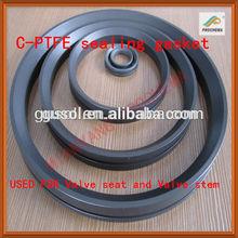 Teflon all-welded ball valve gasket,Teflon gasket for ship