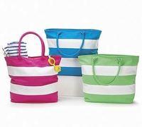 BB235 Recycle Woven Plastic Beach Bag