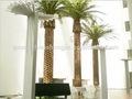 sjh082016 hacer la decoración fecha palmeras canarias los árboles de palma artificial de árboles de palma para la venta