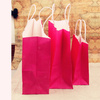 New glossy euro tote paper bags