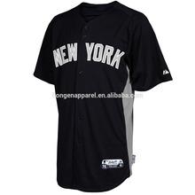 Vente en gros - Yankees gansée de blanc maillots pas cher Baseball maillots de haute qualité hommes sport maillots tous équipe de Baseball se habille jeu