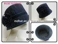 ata coberta de lã de feltro balde chapéu doinverno das senhoras lã de feltro chapéuigreja