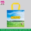 Professional supplier round bottom eco-woven shopping bag
