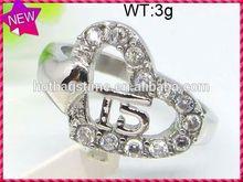 Newly China wholesale jewelry famous masons ring