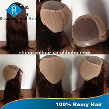 Cheap Natural 100% Human Remy Hair Mono Top Full Lace Wig