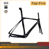 topmost BB86 carbon AERO road racing frameset DI2 system compatible carbon fiber bike frame for sale