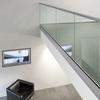 aluminium u channel glass railing/modern style glass railings