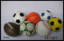 pu foam soft mini sport stress ball ,soccer,baseball,football