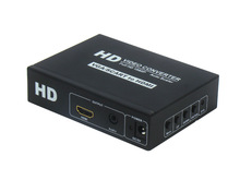 SCART and VGA with Audio input to HDMI Video Converter Adapter upscaler for SCART TV projector