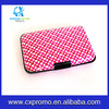 Igloon(TM) New Style Aluminum Wallet Credit Card Holder Wallet With RFID Protection(Stripe Style)