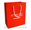 High quality gift paper bag red gift bag