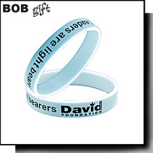 2014 Business Gift Use and New Condition silicone wristbands