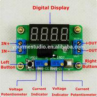 DC/DC Constant voltage and current Buck converter voltmeter