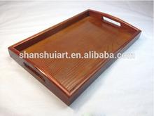 Designer food wooden serving tray