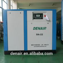 45kw 60hp 8bar Motor stationary electric industrial screw air compressor