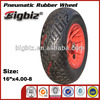 ISO9001 certificated solid rubber wheel 4.00-8, rubber wheel 5 inch