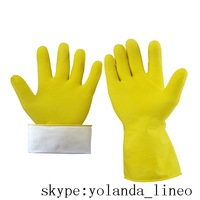 Rubber household gloves in Safety Gloves