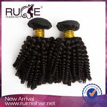 2014 hot sale best quality Natural virgin kinky curl remi velvet hair weave