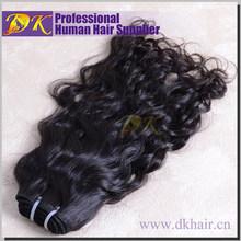 popular virgin human hair weft malaysian natural wave 4pcs lots