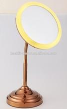 high quality chrome plating cosmetic sheet glass mirror