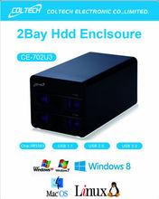 coltech 3.5' USB 3.0 external SATA hdd storage box Hard Drive enclosure