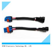 male plug 9005 / HB3 9145 / H10 Xenon Wiring Harness socket