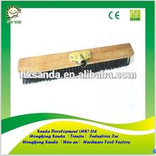heavy duty outdoor wooden block floor brush