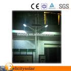 Solar street lighting system CE ROHS,PV panel street light Guangzhou,solar road light