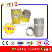 Patent !NQ T teeth diamond core bit