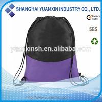 China portable small fabric drawstring bags
