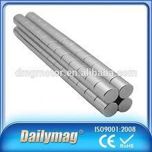 Permanent Ndfeb Magnet For Speaker N35 2Mm Diameter * 1Mm Height