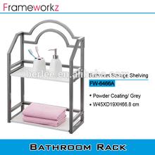 Bathroom glass holder /wall mount storage rack / bathroom glass shelf