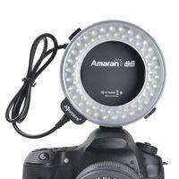 Aputure Halo dslr camera ring flash LED light for CANON macro shooting