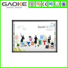 dual touch infrared interactive whiteboard SKD IR sensors assemble/ smart board