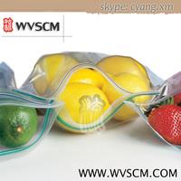 Food grade clear plastic resealable food ziplock bags