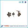 De hierro forjado uva/flores de acero forjado/de hierro fundido hojas