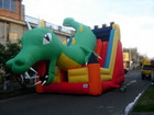 cheap dragon inflatable slide,attractive inflatable slides for sale