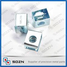din standard carbon steel square coupling weld cage nut